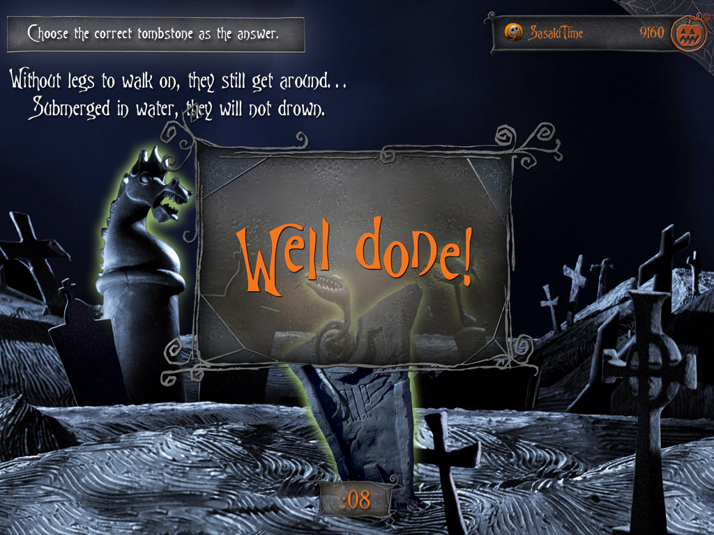 Sasaki Time: Review - Second Screen Live: The Nightmare Before ...