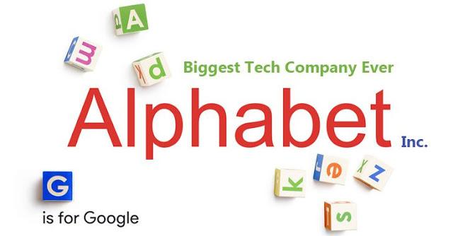 launciing Alphabet google