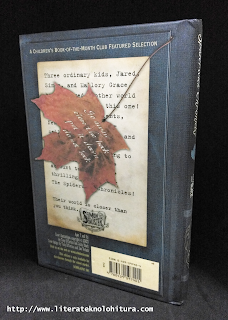 spiderwick chronicles the field guide back cover