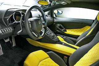 Lamborghini Aventador 50° Anniversario interni