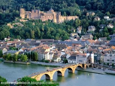 kastil Heidelberg Castle di jerman
