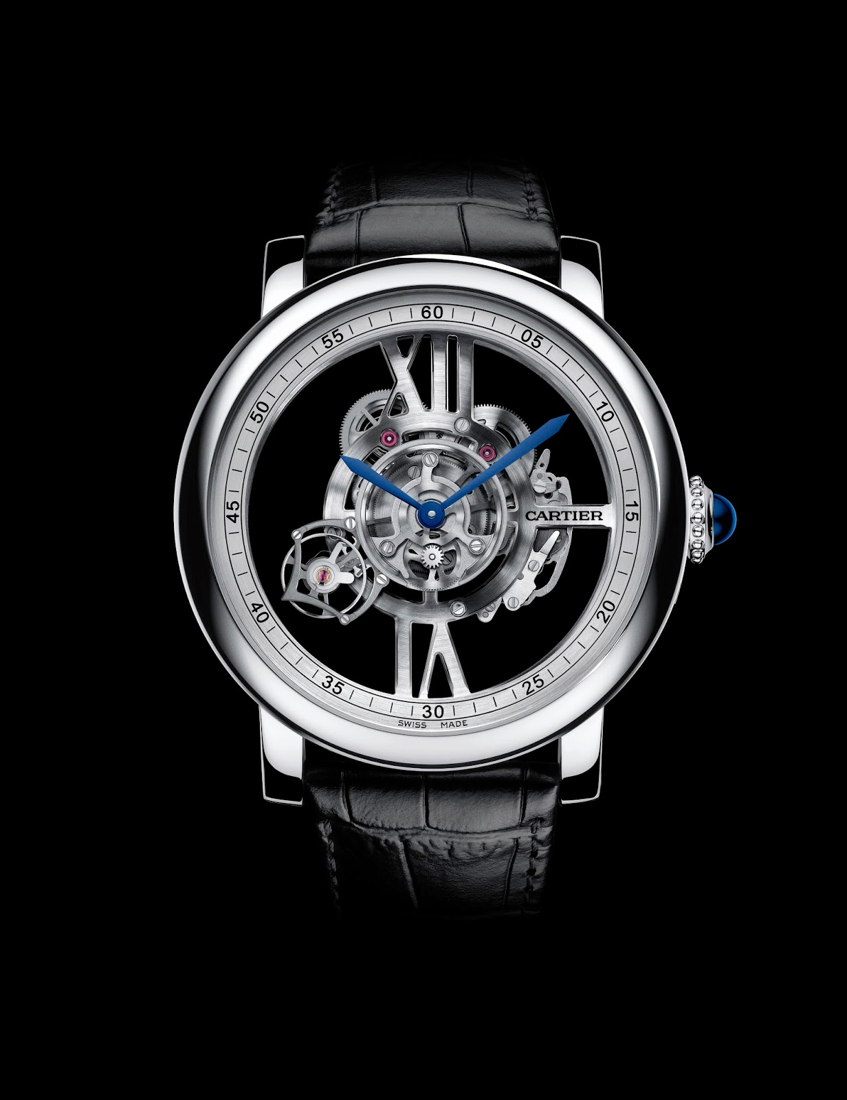 Cartier Rotonde de Cartier Astrotourbillon & Ronde Louis Cartier Filigree Watches