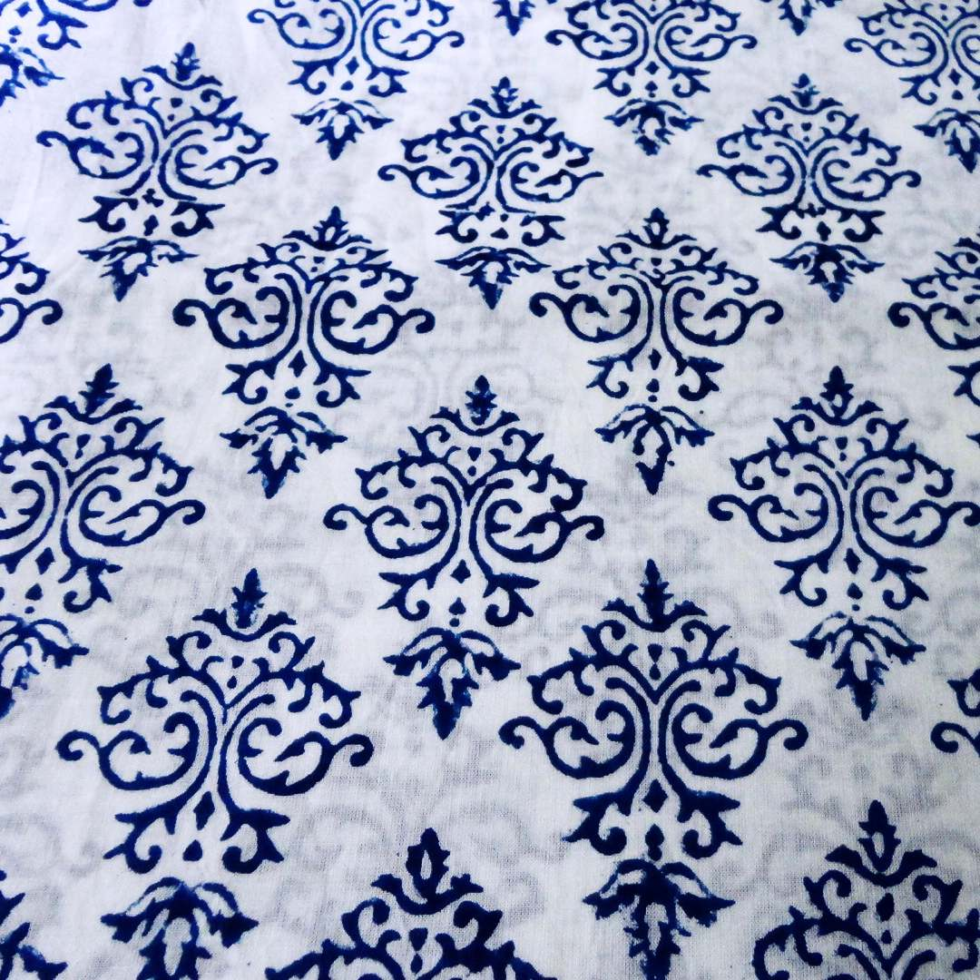 Block print fabric for Fabric printing