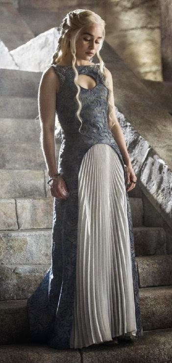 Emilia Clarke in Game of Thrones season finale