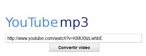 conversión de youtube a mp3