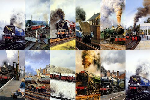 Wallpapers de trenes y locomotoras para iphone y ipod