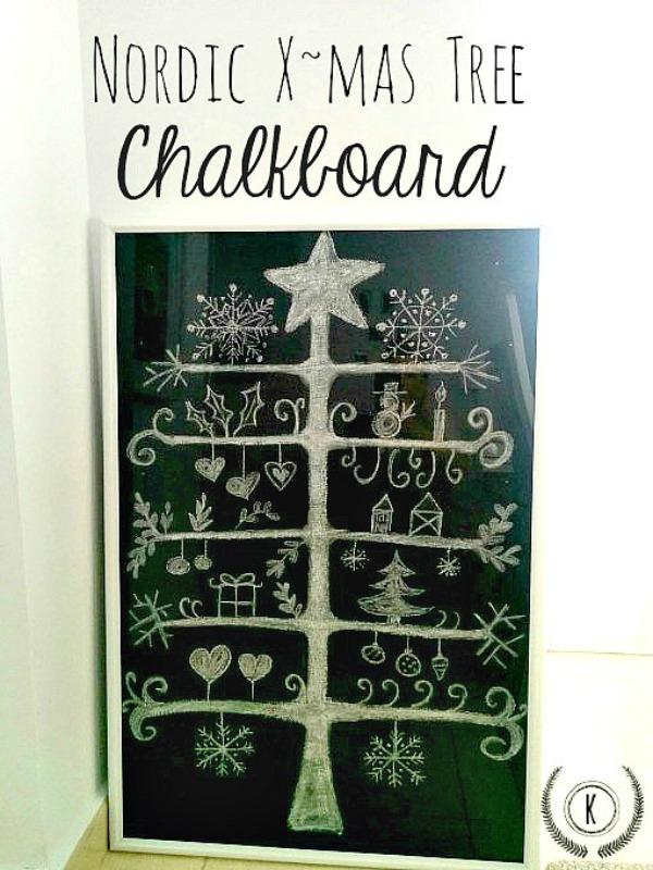 http://www.kreativk.net/nordic-xmas-tree-chalkboard/