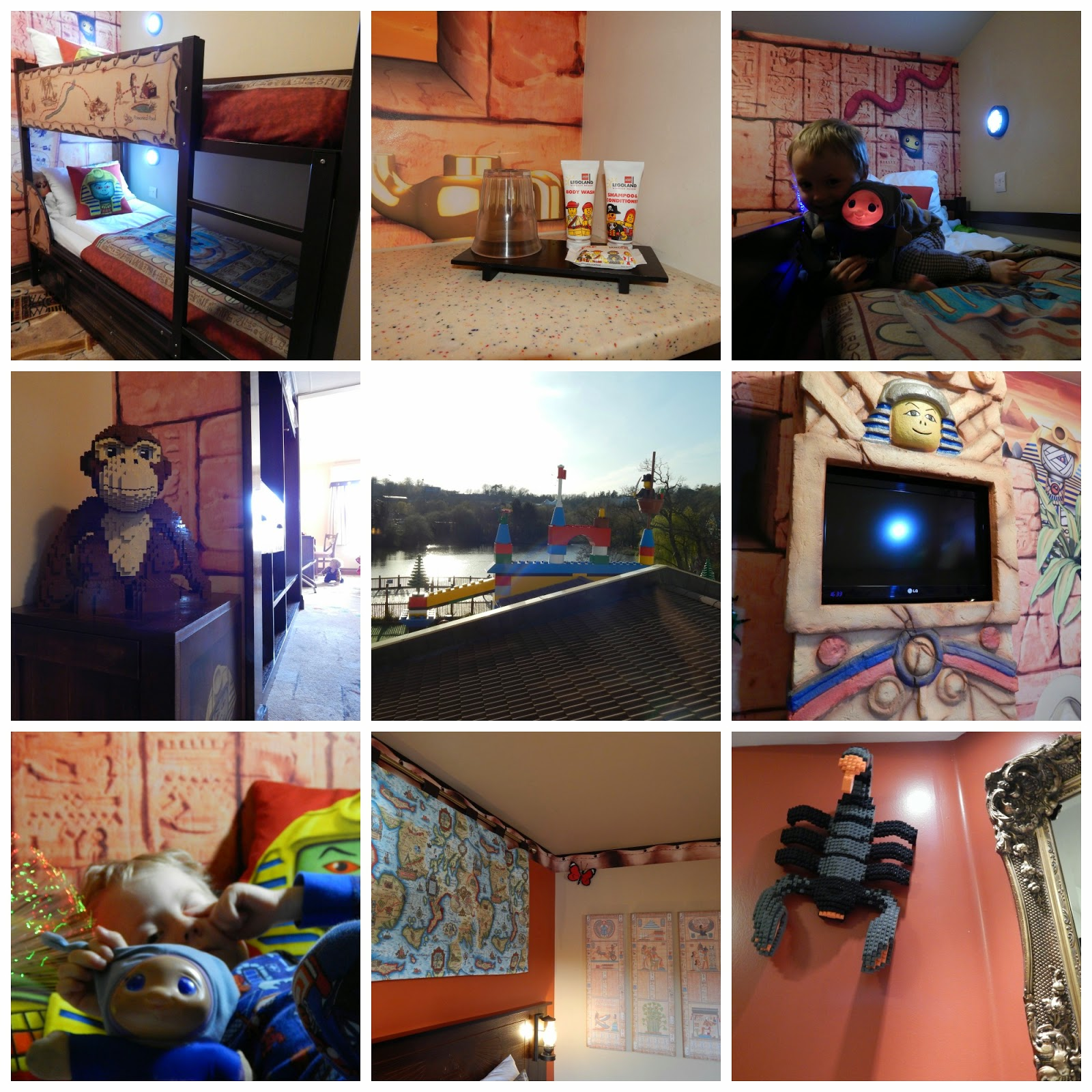 Legoland Hotel Adventure Themed Room