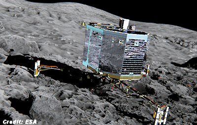 Philae Comet Could Be Home to Microbial Alien Life