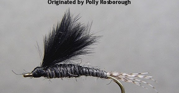 Loj Ramblins Polly Rosborough Black Drake Swimmer Nymph