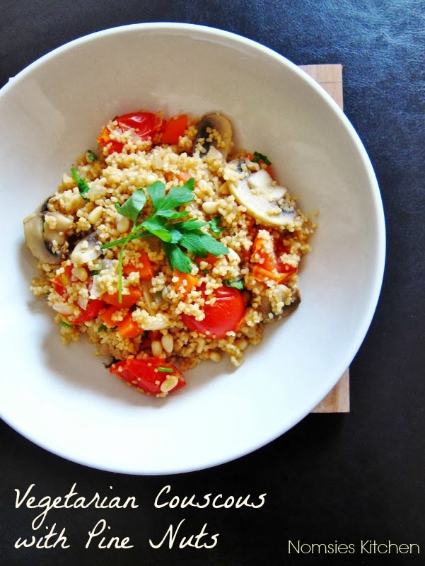 Nomsies Kitchen: Vegetarian Couscous with Pine Nuts
