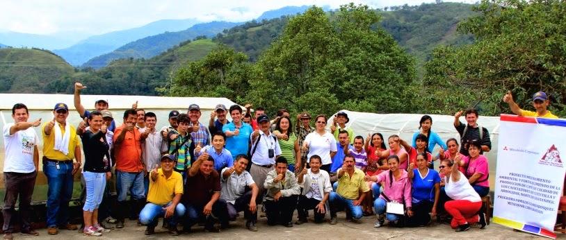 Caficultores de Cucutilla y Arboledas finalizan proyecto de mejoramiento ambiental y fortalecen la producción de café de calidad