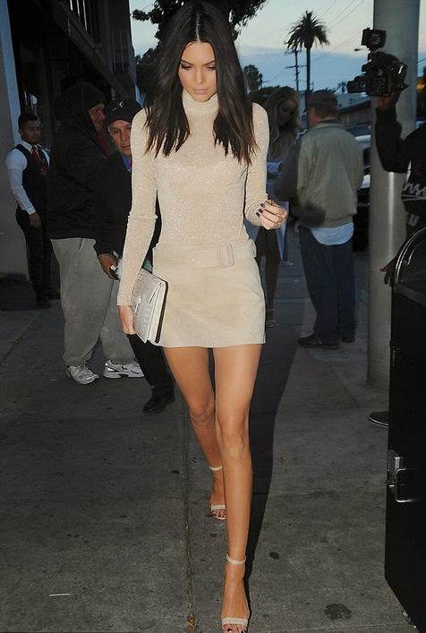 Kendall Jenner Exposure Beautiful Long Legs Fetish