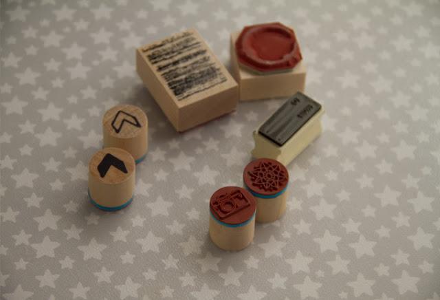 Detalle sellos madera