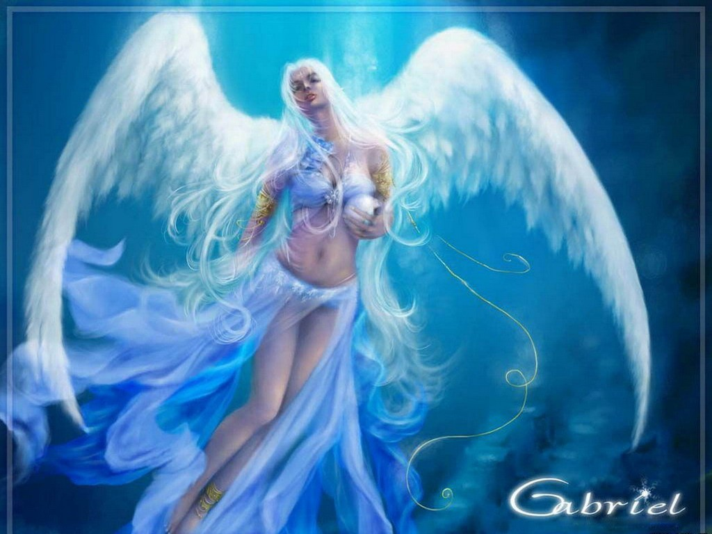 Theme, interesting Beautiful fantasy angels