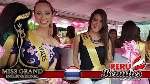 Imágenes de Perú en tours en la provincia de Trat - Miss Grand International 2015