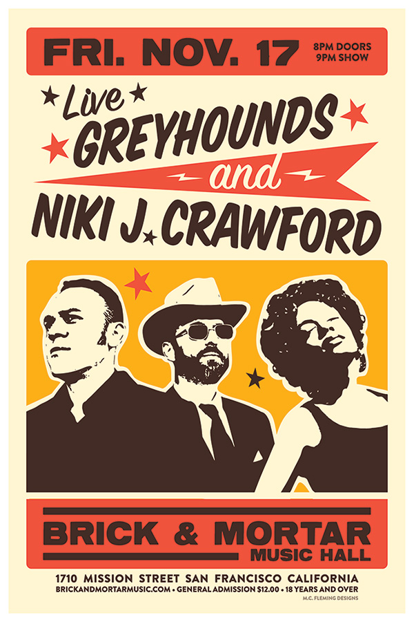 Greyhounds + Niki J. Crawford
