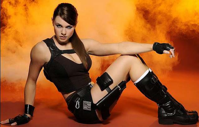 Alison Carroll in Game Tomb Raider: Underworld