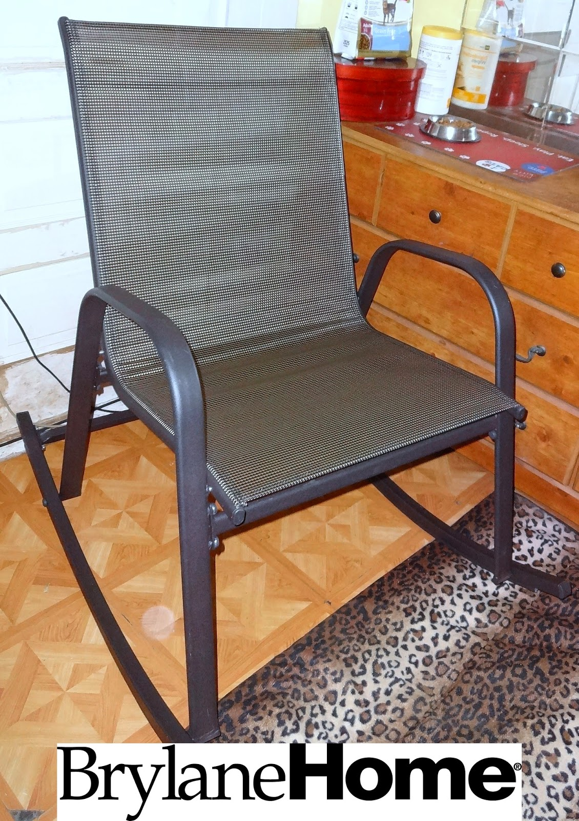 My Empty Nest BrylaneHome Extra Wide Outdoor Rocking Chair