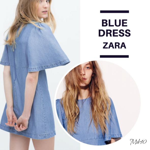 Little Denim Dress LDD Zara fondo de armario