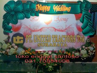 banner bunga papan digital printing