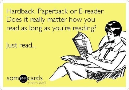 How are you read?