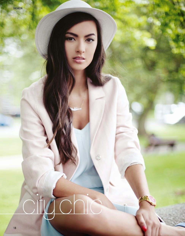 City Chic fashion shoot Aberdeen