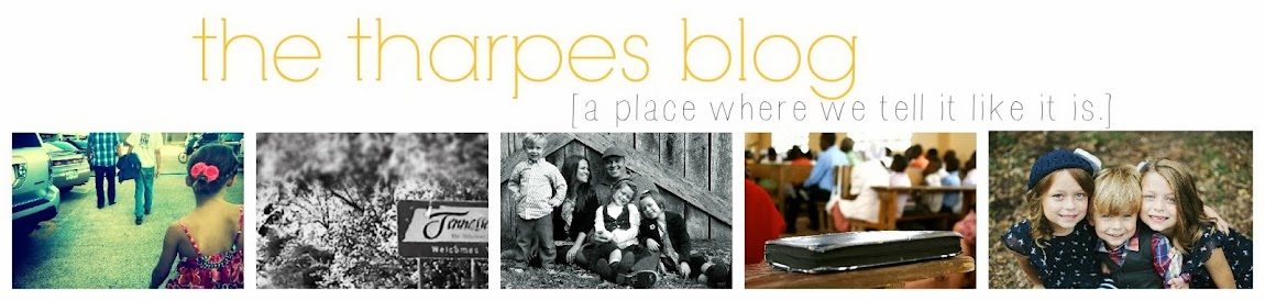 .the tharpes blog.