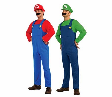 ... costume idea for a gay couple looking to match this Halloween. All you and your partner need is a pair of denim dungarees a green and red jumper ...  sc 1 st  The Mutant Files & The Mutant Files: The 6 most perfect Halloween costume ideas for gay ...