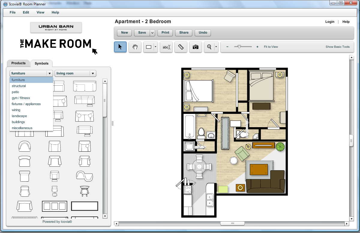 Gifts we use techy tuesday techy room planners for Bedroom planner online free