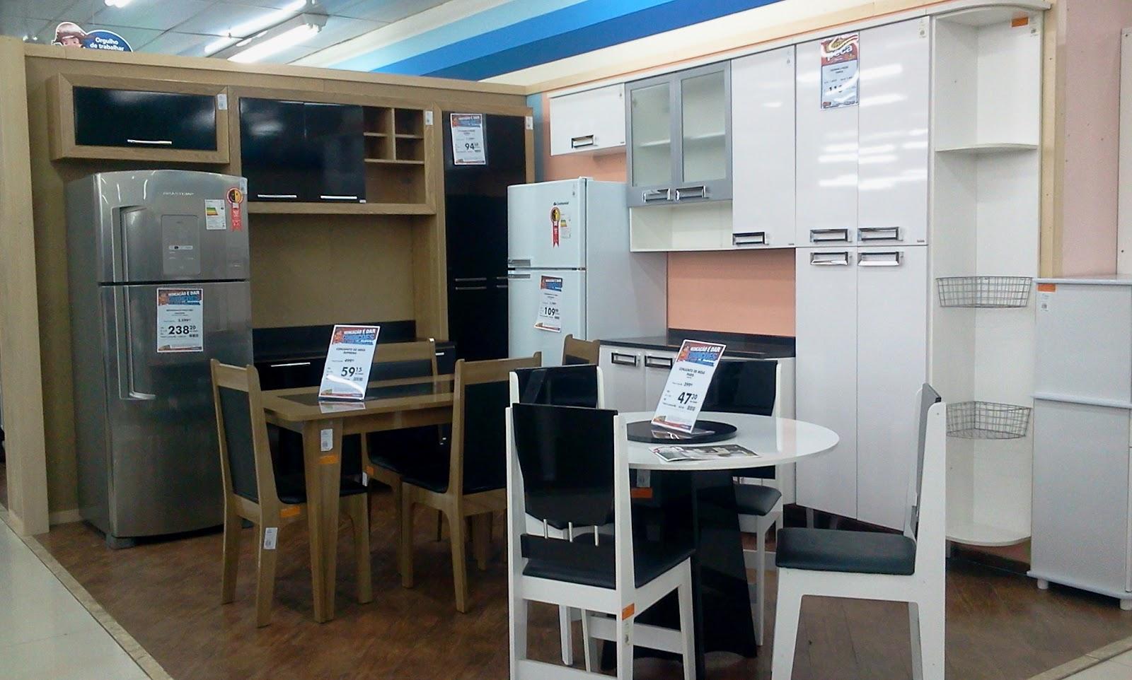 For linha de cozinhas completas oferecida pelas Casas Bahia possui a #286BA3 1600 962