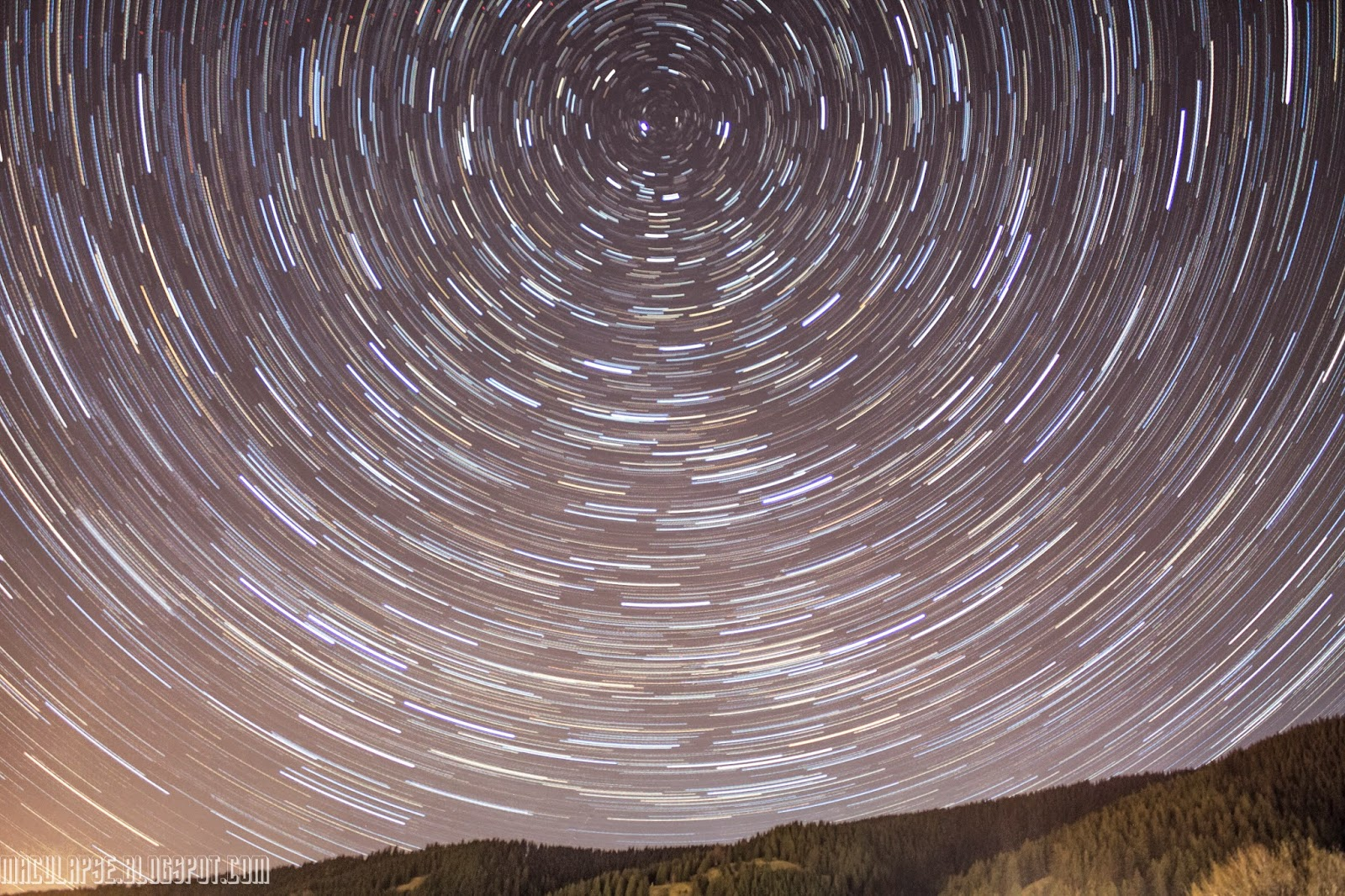 Startrails photography