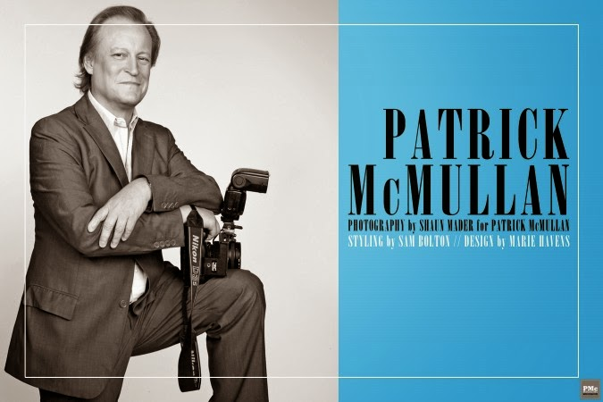 """if you don' t know Patrick McMullan  you should go out more"": Andy Warhol"