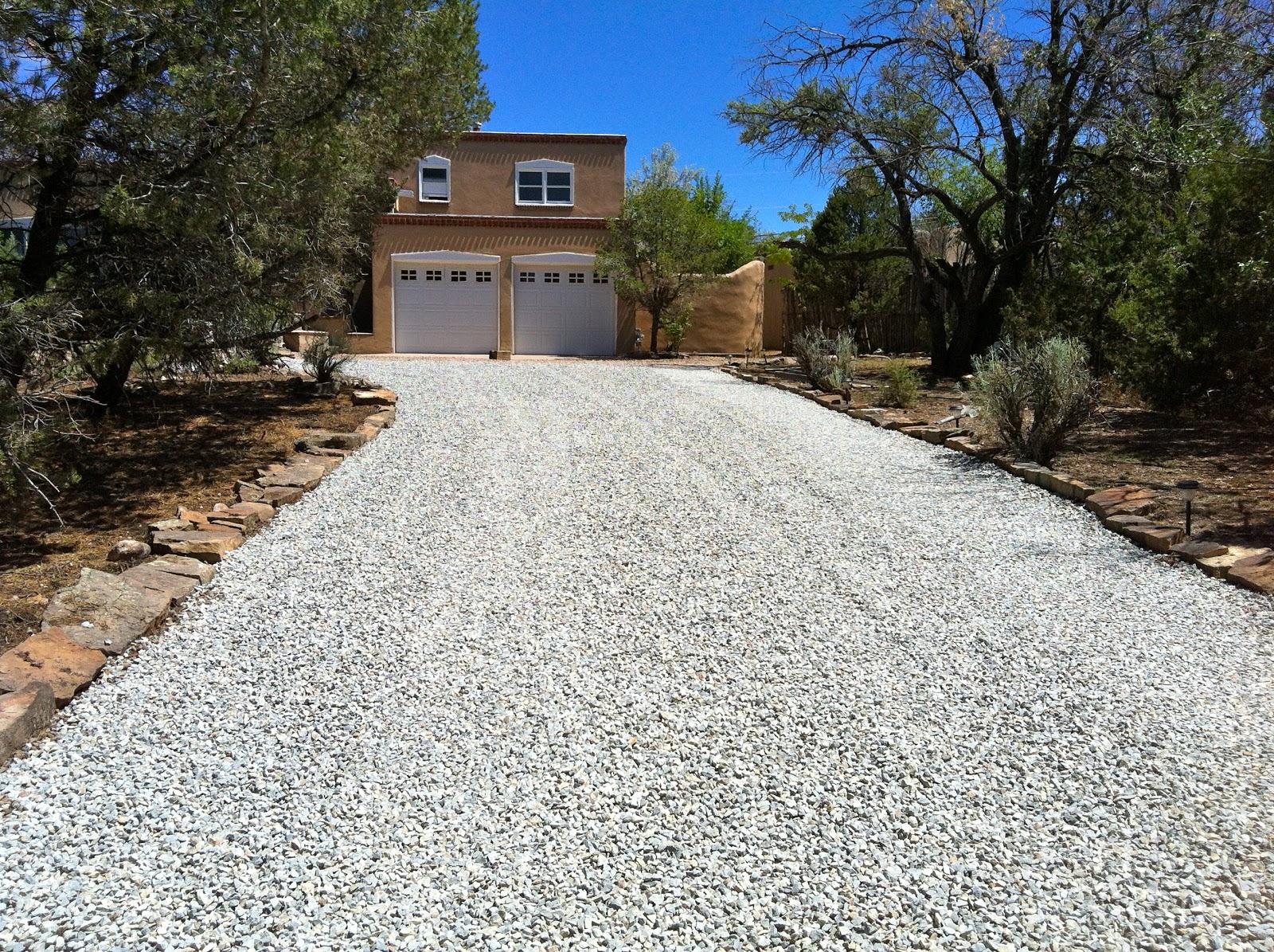 Best Gravel For Driveways Stone : Afj custom paving new gravel driveway
