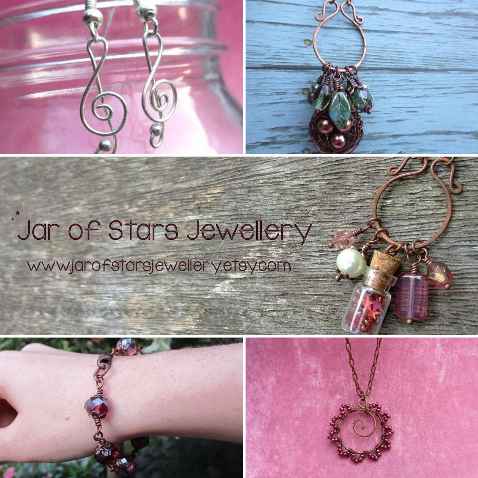 Jar of stars jewellery
