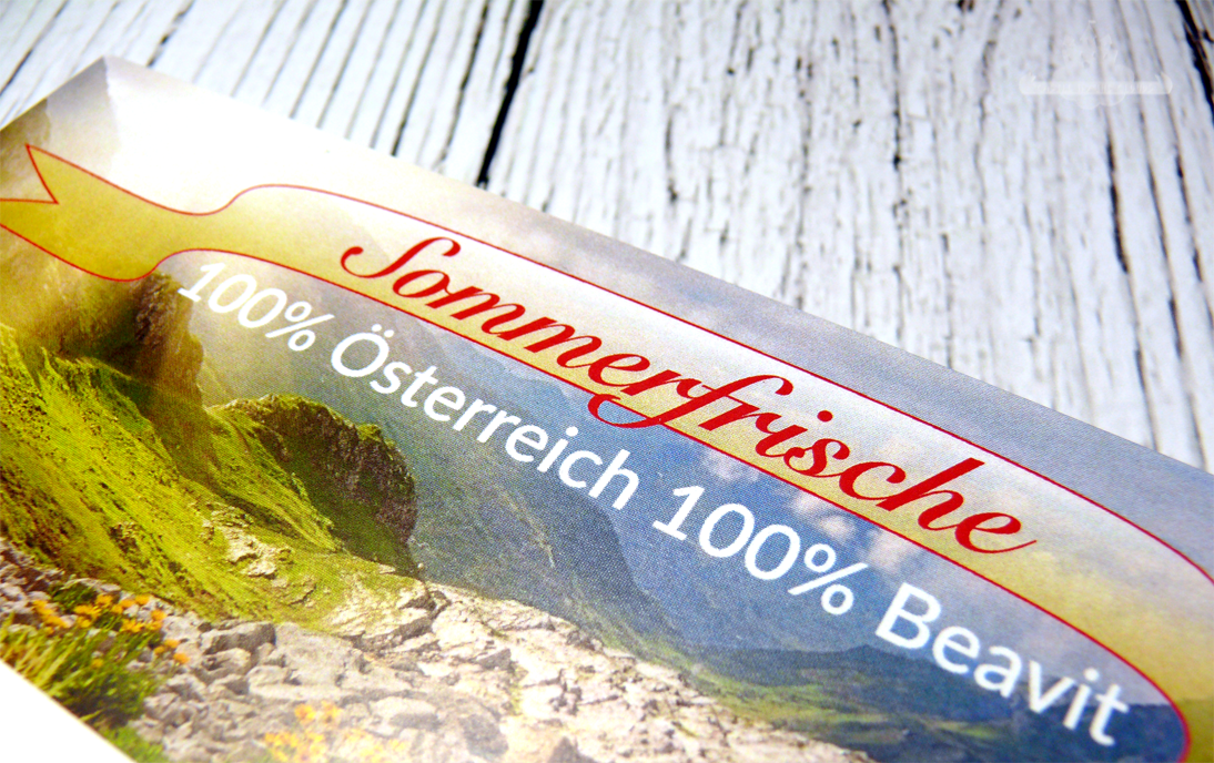 Beavit Apothekenbox Österreich April 2015 Sommerfrische Vorschau
