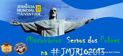 Servos dos Pobres na JMJRio 2013