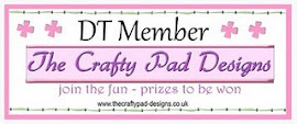 I was a DT Member for The Crafty Pad