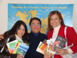 Visita a la sede de la Editorial Paulinas en Madrid 24 de feb. 2012.
