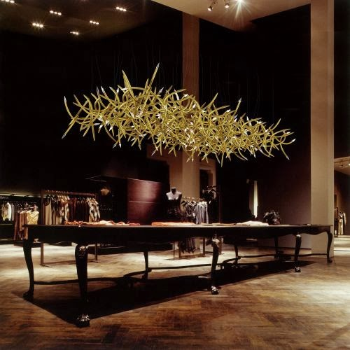 antlers modern lighting fixture