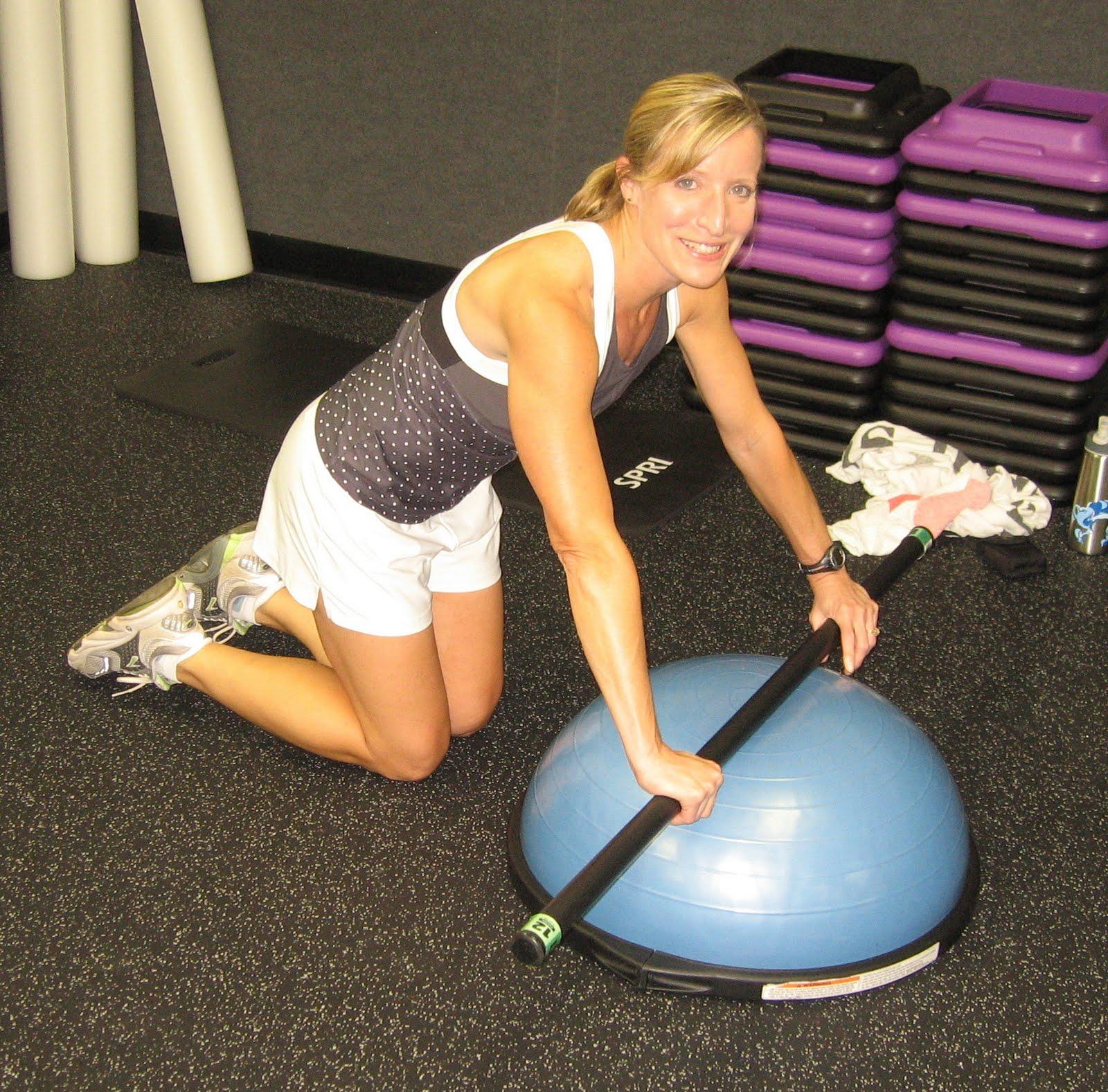 Bosu Ball Benefits: Fitness Friday :: Week Twelve