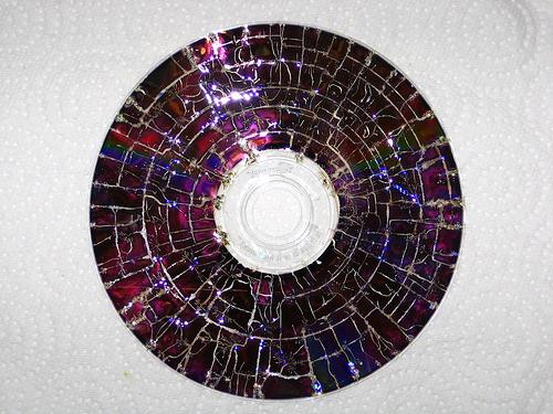 Victoria Bianco: Reciclado de dvd's