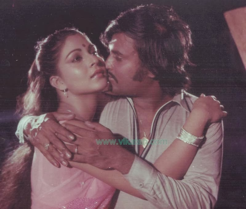 Rajinikanth & Rathi in 'Kazhugu' (1981) Tamil Movie 2