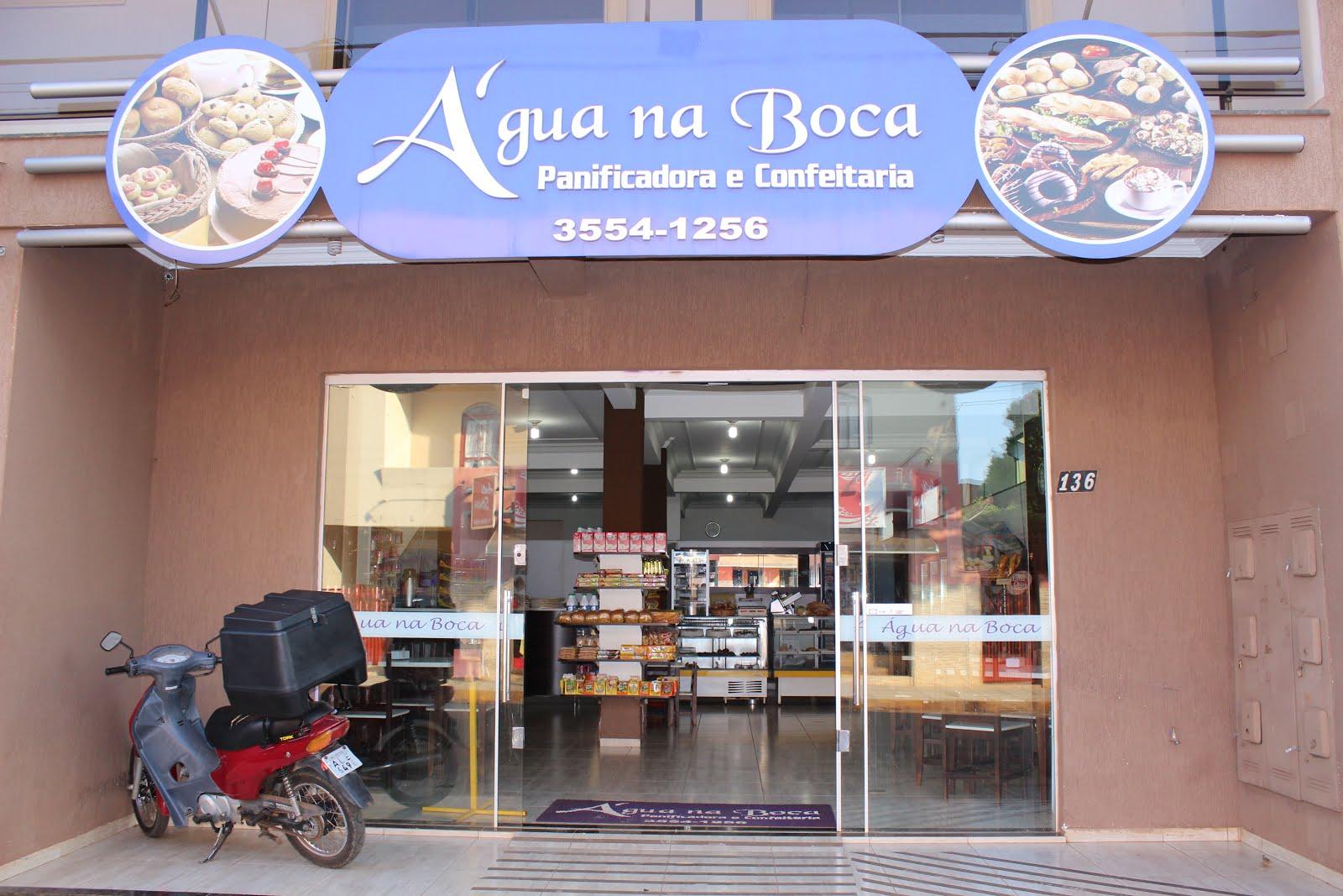PADARIA E CONFEITARIA ÁGUA NA BOCA..