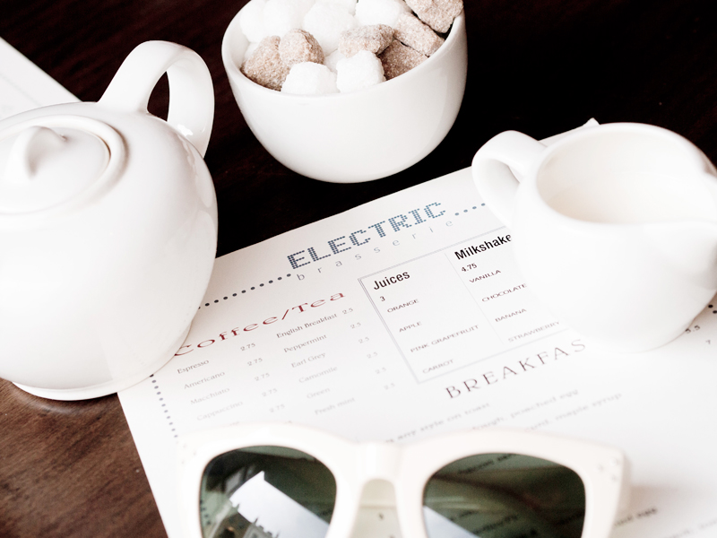Join me for a fancy brunch at The Electric Brasserie