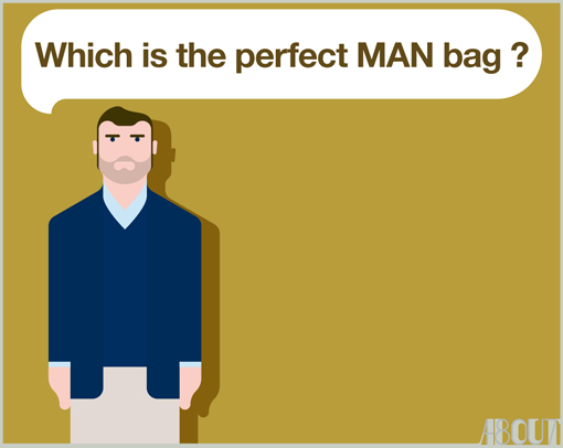The perfect man bag / TYLER BRÛLÉ