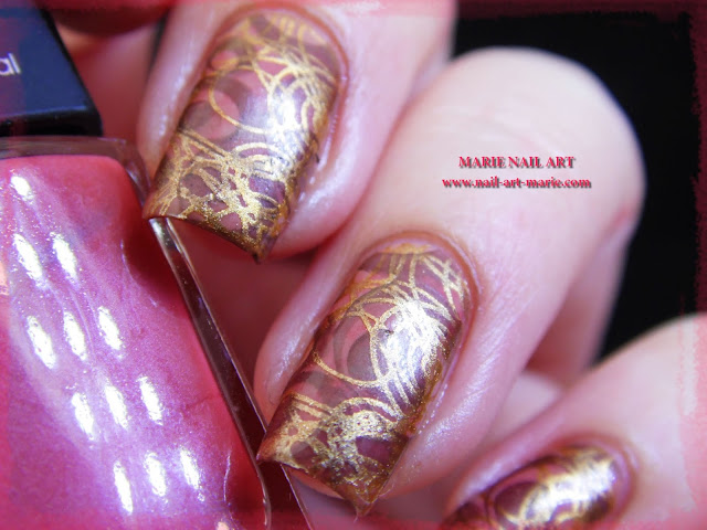 Nail Art Double Stamping Automnale4