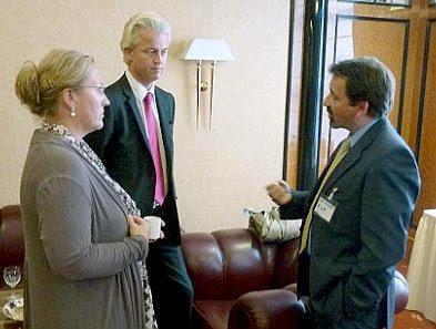 Berlin, Sept 3 2011: ESW, Geert Wilders, Paul Weston