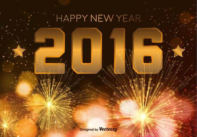 Feliz Año Nuevo 2016 Tarjetas