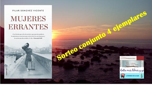 """SORTEO CONJUNTO """"MUJERES ERRANTES"""" (PILAR SÁNCHEZ VICENTE)"""